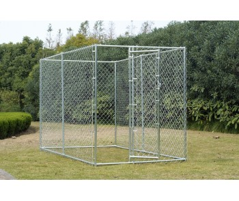 Chain Link Dog Kennel  5' x 10' x 6' for sale