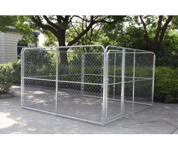 Chain Link Hundehütte 10 ' x 10 ' x 6 ' zum Verkauf