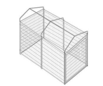 Kennel Cover 5 'x 10' zum Verkauf
