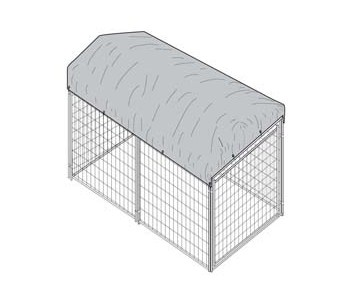 Kennel Cover  5' x 10' for sale