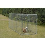 チェーンリンク犬の犬小屋、5 ' ×15 ' X 6 '