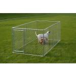 チェーンリンク犬の犬小屋、5 ' ×10 ' X 4 '