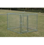 Chain Link Dog Kennel  5'  x 5' x 4'