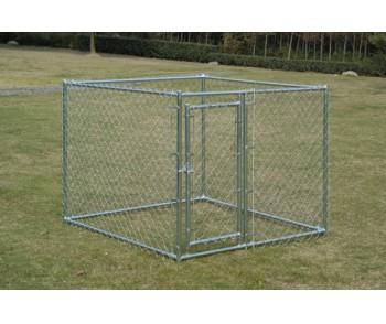 チェーンリンク犬の犬小屋、5 ' ×5 ' X 4 '