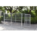 Chain Link Dog Kennel  10'  x 10'  x 6'