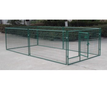 Metal Pet Fence  2m X 1.15m X 4m