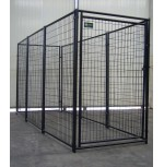 Power Coating Dog Kennel  4' x 12' x 6'