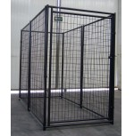 Power Coating Dog Kennel  4' x 8' x 6'