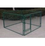 Metal Pet Fence  2m X 1.15m X 2m