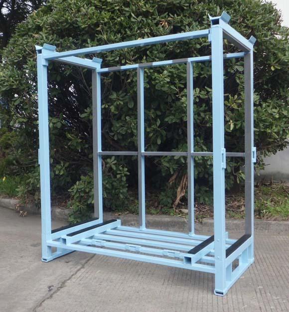 Estante de vidrio