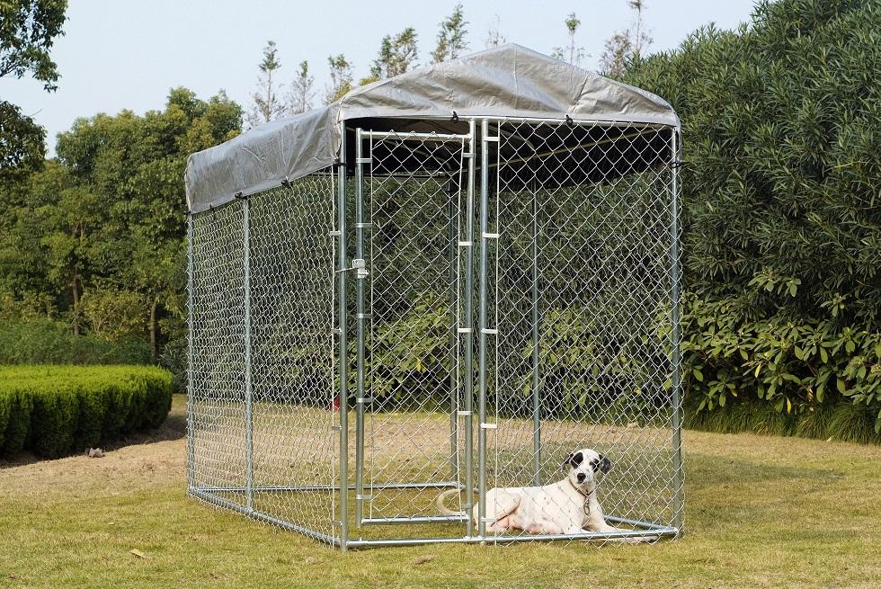 販売のためのチェーンリンク犬の犬小屋、5 ' ×10 ' X 6 '