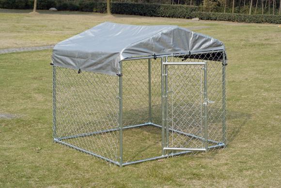販売のためのチェーンリンク犬の犬小屋、5 ' ×5 ' X 4 '