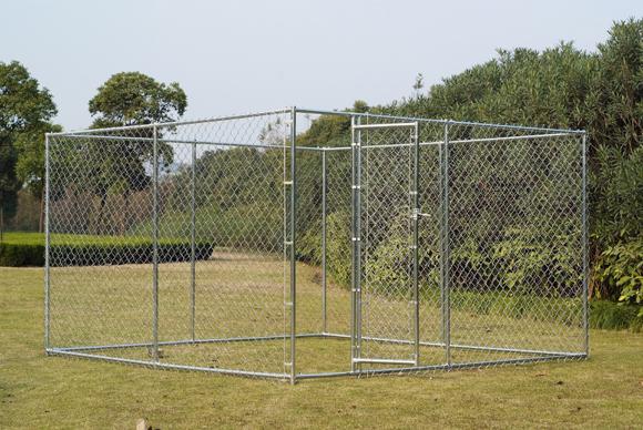 Chain Link Hundehütte 5 ' x 15 ' x 6 ' zum Verkauf